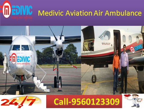 Medivic Aviation Air Ambulance Services in patna