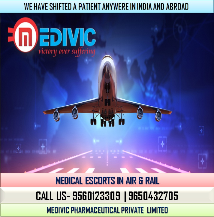 Medivic Aviation Air Ambulance Service in Bangalore